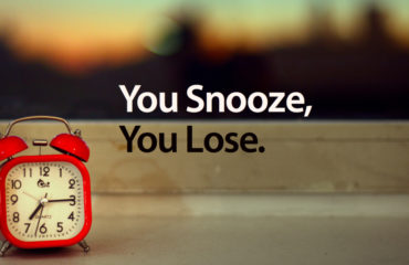 Snoozing your Success